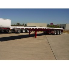 45ft Flat Top Semi Trailers